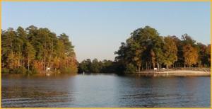 Beautiful Lakes in Hot Springs Village